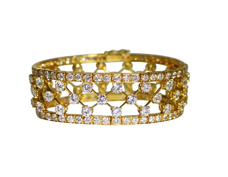 18 Karat Gold and Diamond