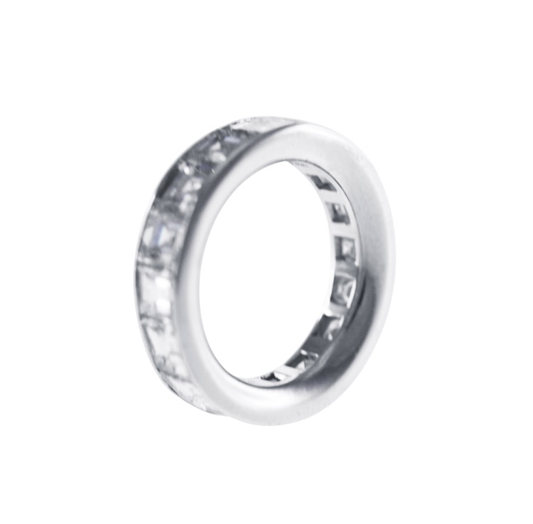 Platinum and Diamond Eternity Band by Graff - Image #3