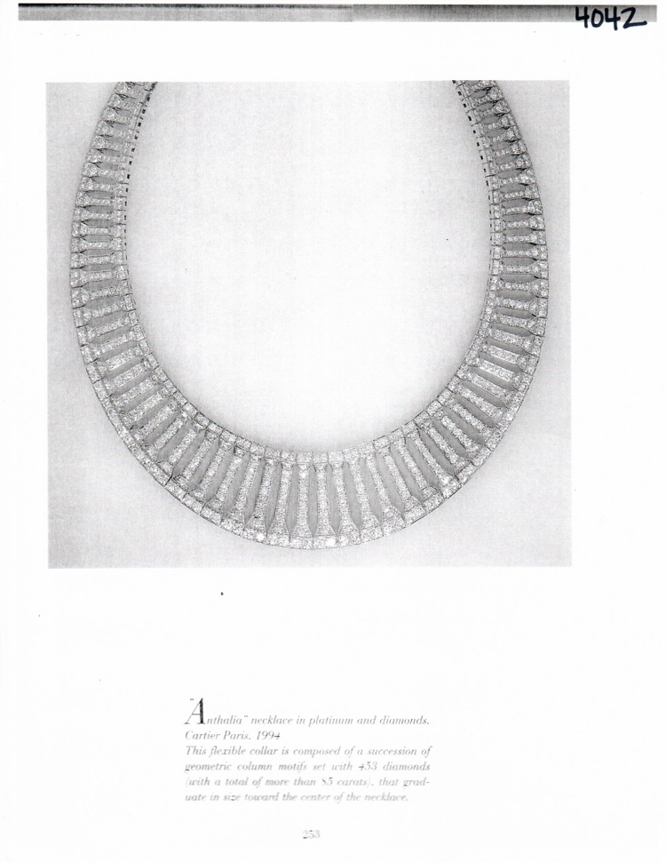 18 Karat Gold and Diamond Necklace by Cartier, France - Image #7