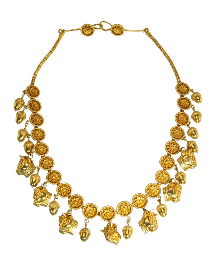18 Karat Gold Necklace by Lalaounis, Greece