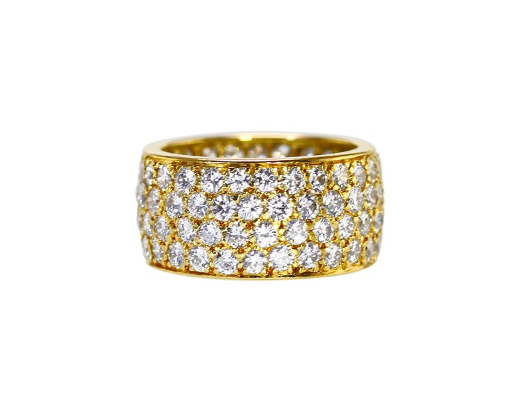 18 Karat Gold and Diamond Ring by Van Cleef & Arpels