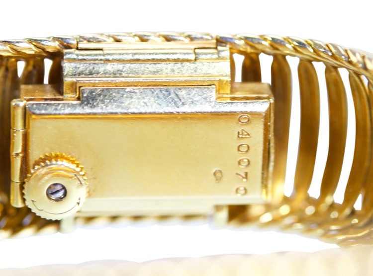18 Karat Gold Watch by Cartier, France, circa 1950s - Image #5