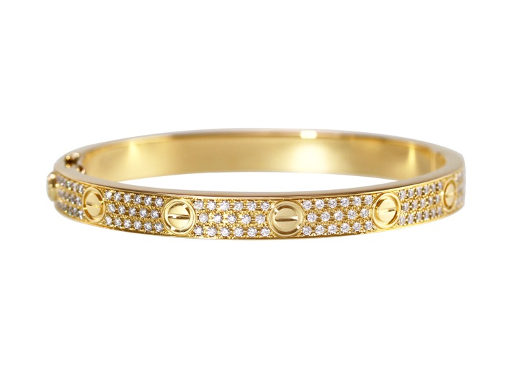 18 Karat Yellow Gold \