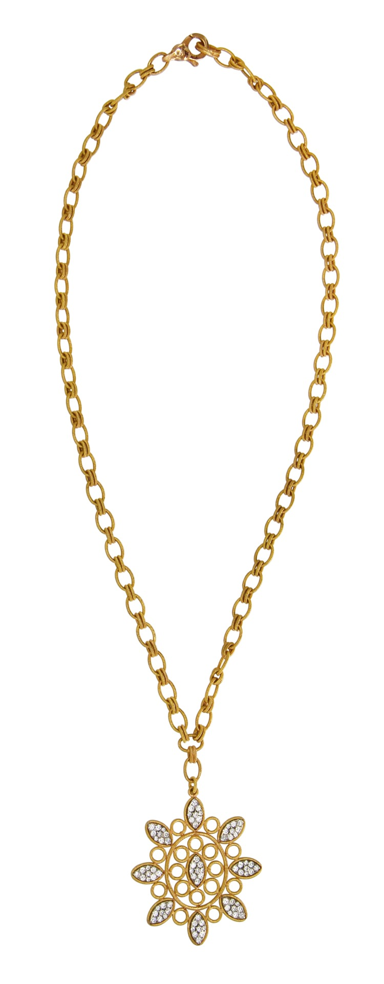 18 Karat Gold and Diamond Necklace by Buccellati, Italy