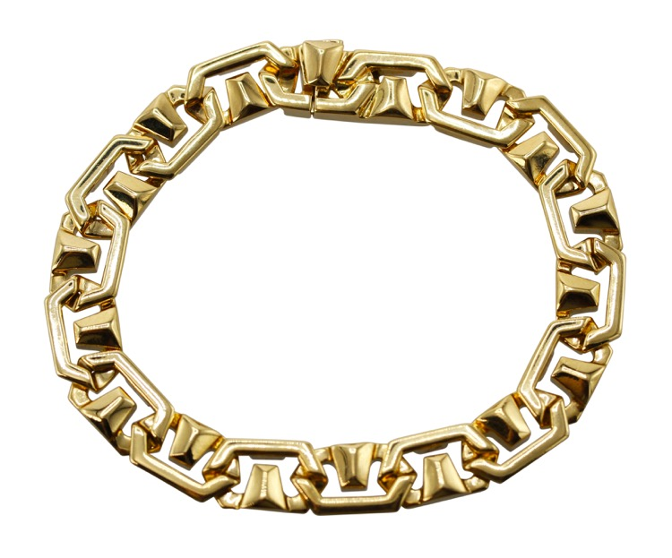 18 Karat Yellow Gold Bracelet by Bulgari, Italy