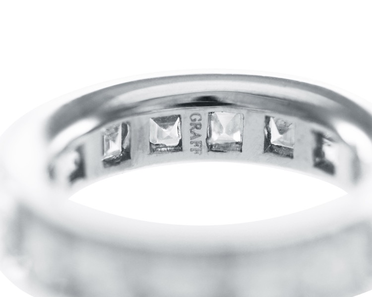 Platinum and Diamond Eternity Band by Graff - Image #4