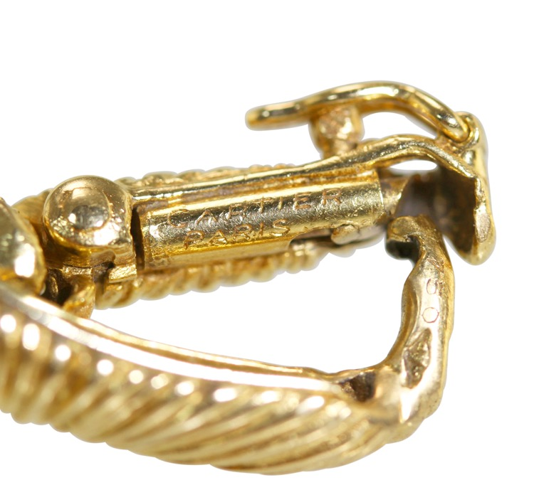 18 Karat Gold Link Bracelet by Cartier, Paris, circa 1970 - Image #5