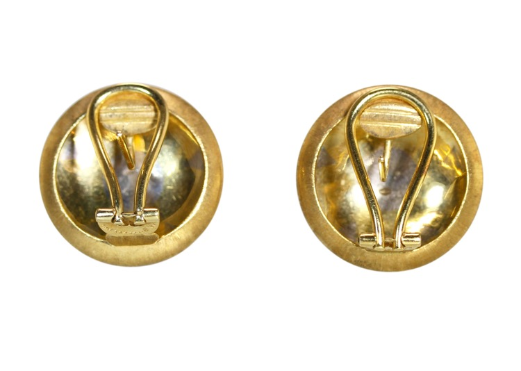 Pair of 18 Karat Two-Tone Gold Earclips by M. Buccellati - Image #3