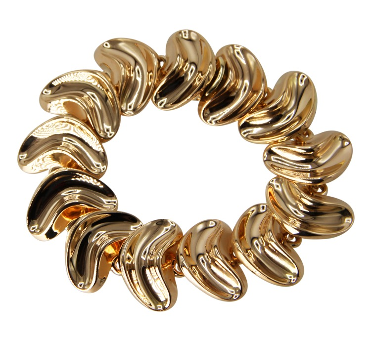 18 Karat Yellow Gold Bracelet by Anton Michelsen, circa 1970