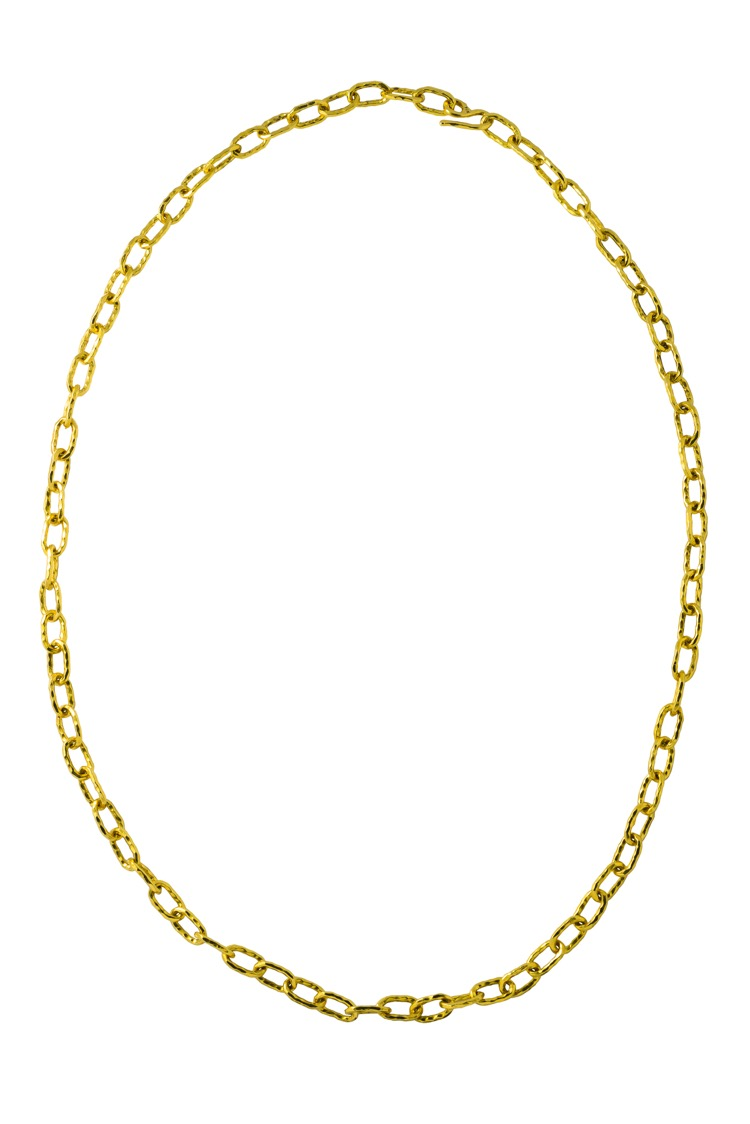 22 Karat Yellow Gold Necklace by Jean Mahie