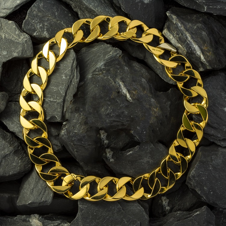 Verdura Curb-Link Necklace, Convertible, 18K Gold