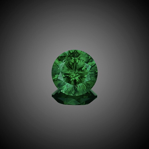 Loose 5.00 Carat Round Russian Demantoid