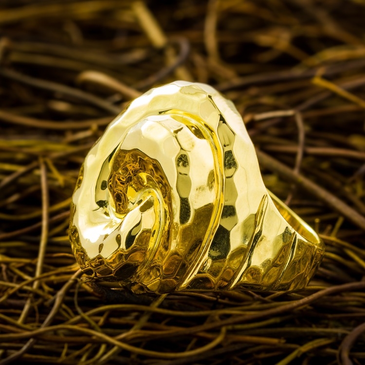 18 Karat Yellow Gold Ring by Henry Dunay