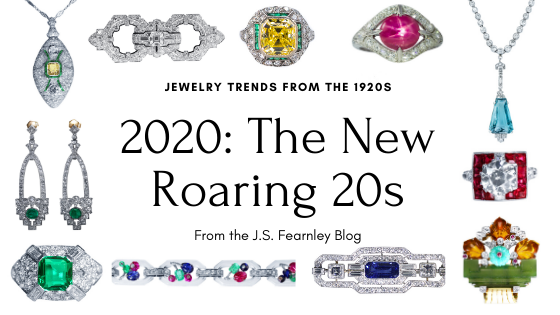 Art Deco Jewelry Trends from the 1920s: Is 2020 the New Roaring 20s?