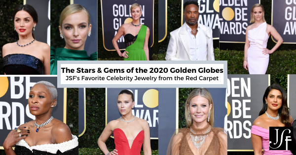 The Stars & Gems of the Golden Globes 2020: Our Favorite Celebrity Jewelry from the Red Carpet