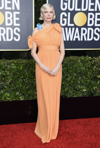 Michelle Williams Jean Schlumberger Jewels on the 2020 Golden Globes Red Carpet