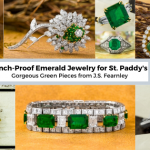 Pinch Proof Emerald Jewelry St Patrick's Day J.S. Fearnley